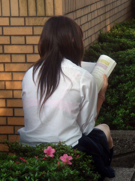 【JK透けブラエロ画像】女子高生の透けブラはストレス社会を生き抜くためのカンフル剤だなwwww その8