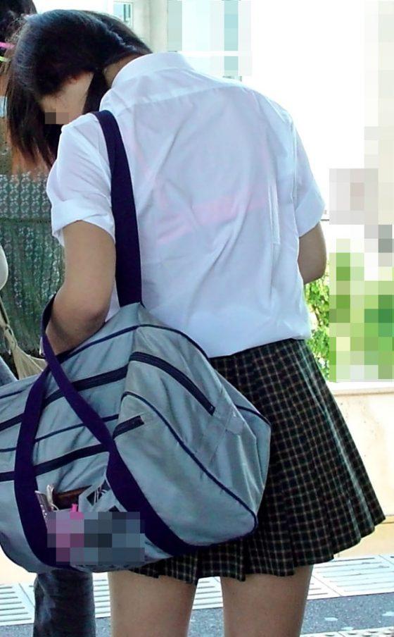 【JK透けブラエロ画像】女子高生の透けブラはストレス社会を生き抜くためのカンフル剤だなwwww その10