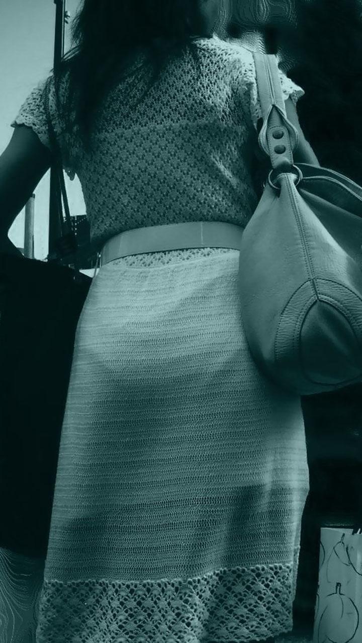 【赤外線盗撮エロ画像】赤外線カメラで街中を撮った結果…怖いぐらい透ける透ける!これは規制が必須だなwwww その9