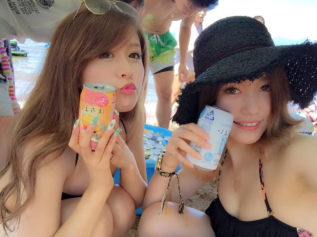 【水着ギャルインスタ画像】夏本番!ビーチやプールでチンポを待ってる…雌アピール激しい水着ギャルのインスタ画像 その13