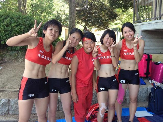 【女子陸上エロ画像】女子陸上選手のしなやかな肢体にチンポがビンビン!ユニホーム姿の部活女子がエロ可愛いwww その4