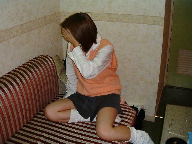 【ラブホ流出エロ画像】これはヤバいッ!!身体つきが幼すぎる少女たちがラブホであられもない姿に…犯罪レベルの流出画像 その5