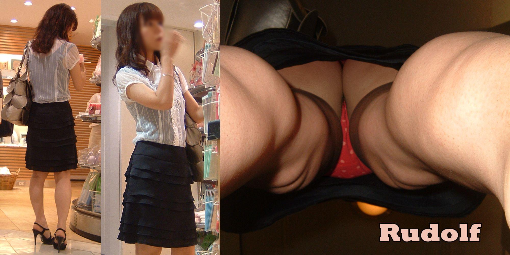 【逆さ撮りエロ画像】女子大生やOLさん…スカートの中を真下から盗撮されたガチ素人の下半身がぐぅシコwww その11